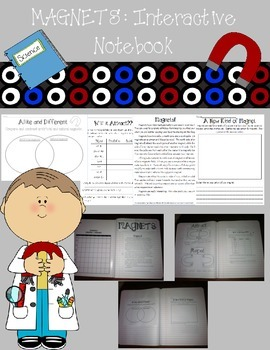 Magnets: Interactive Notebook and Activities