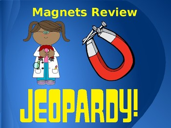 Magnets Jeopardy: Editable