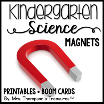 Magnets - Kindergarten Science NGSS