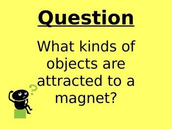 Magnets Lab Lesson forKinder