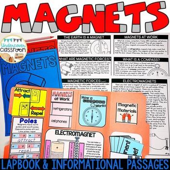 Magnets Lapbook: Interactive Kit