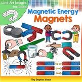 Magnets - Magnetic Energy Clip Art