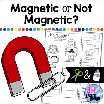 Magnets: Magnetic or Not Magnetic? Cut and Paste Activity