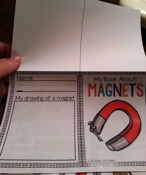 Magnets Mini-Book & Color-By-Number Questions