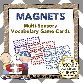 Magnets Multi-Sensory Vocabulary Game