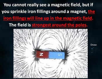 Magnets POWERPOINT WITH NOTES - 3rd Science