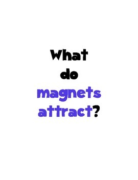 Magnets Questions and Answers Full Color Posters