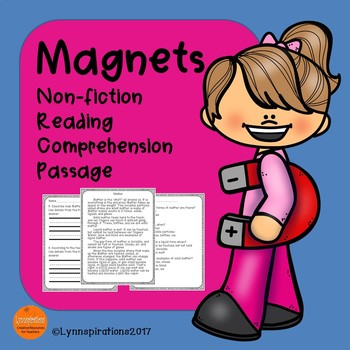 Magnets Reading Comprehension