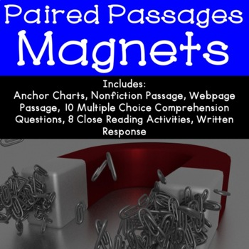 Magnets Reading Comprehension Paired Passages