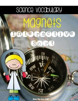 Magnets {Science Interactive Vocabulary Sort}