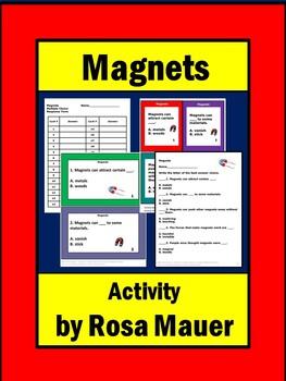 Magnets Unit Task Cards