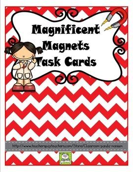 Magnets Task Cards
