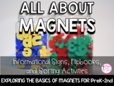 All About Magnets  {PreK-2 Activities, Sorting, & Picture Informational Signs)