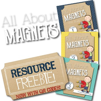Magnets Unit Study Resources Page