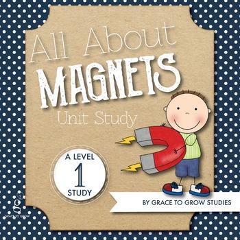 Magnets Mini-Unit Worksheets (PreK-K)