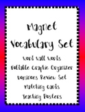 Magnets Vocabulary Bundle