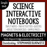 Magnets and Electricity Interactive Notebook Unit | Editab