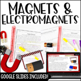 Magnets and Electromagnets - Digital Science Activities Included