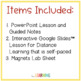 Magnets and Electromagnets {Lesson, Notes, Lab}