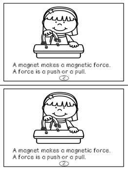 Magnets and Force Readers for Primary