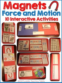 Magnets, Force, & Motion Science Interactive Activities