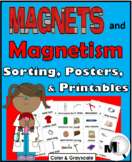 Magnets Sorting Activity, Science Posters, Flap Books, Puz