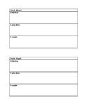 Magnets and Matter Key Vocab Worksheet