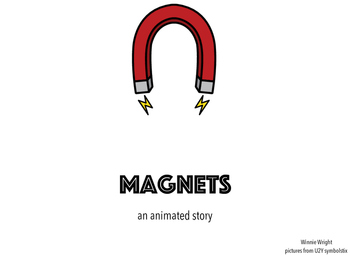 Magnets animated story and quiz for nonverbal level 1 students