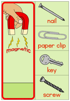 Magnet matching activity