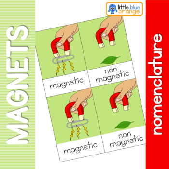 Magnets nomenclature cards
