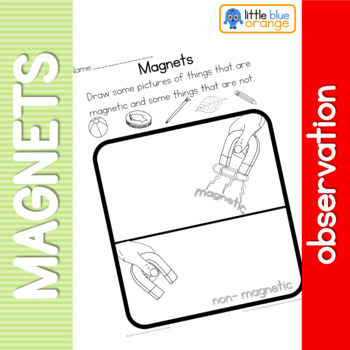 Magnets observation sheet