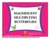 Magnificent Butterfly Multiplication Facts Game....DISTANC