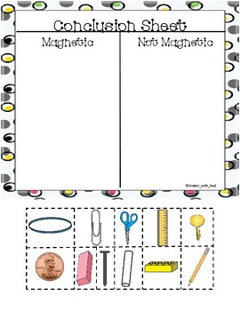 Magnificent Magnets A take home Science Experiment