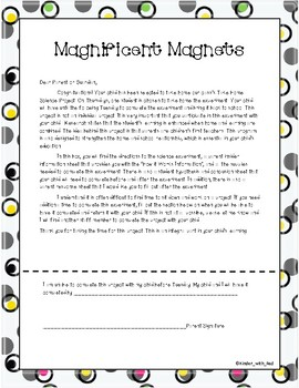 Magnificent Magnets: A Take Home Science Experiment