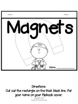 Magnificent Magnets! Interactive Flipbook Kit