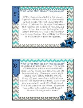 Magnificent Main Idea Task Cards