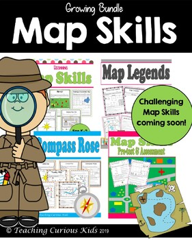Magnificent Map Skills Bundle