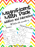 Magnificent Math Pack Addition and Subtraction Up To 5