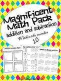 Magnificent Math Pack Addition and Subtraction Up to 10