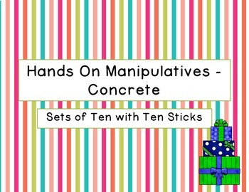 Multiplying by Tens Hands on Manipulatives Magnificent Math with Multiplication
