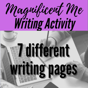 Magnificent Me Book- Writing Activity