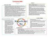 Magnificent Me Curriculum and Thematic Webs