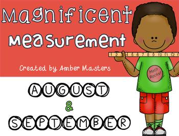 August/September Measurement Station