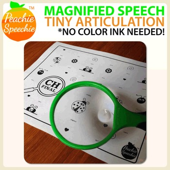 Magnified Speech: Tiny Articulation