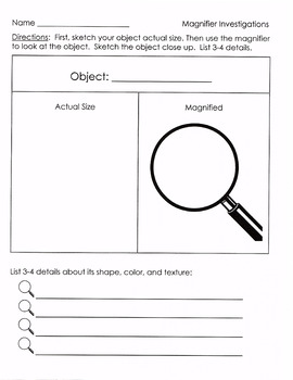 Magnifier Investigations