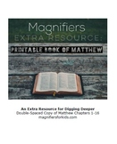 Magnifiers: Extra Resource - Printable Copy of the Book of