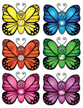 Magnify Butterfly - CVC Words