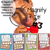 Magnify It 3: Number Bonds and Numerals 10-20! Games  by Kim Adsit