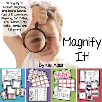 Magnify It Bundle - Center Games by Kim Adsit