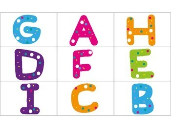Magnifying Glass ABC's and 123's Write the Room